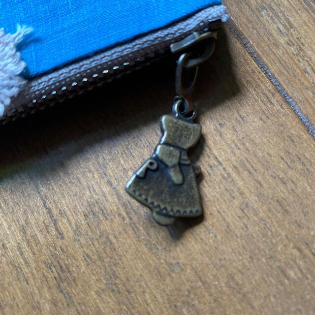 mina perhonen(ミナペルホネン)のミナペルホネン 青色スキップ生地とタンバリン新色で作ったペンケース&ミニポーチ! ハンドメイドのファッション小物(ポーチ)の商品写真
