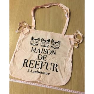 メゾンドリーファー(Maison de Reefur)の未使用MAISON DE REEFUR3周年限定ショッパー★ネコ★梨花(エコバッグ)