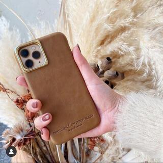 ルームサンマルロクコンテンポラリー(room306 CONTEMPORARY)のLeather Phone Case 11Pro MAX(iPhoneケース)
