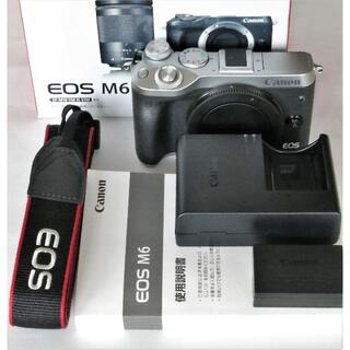Canon - 美品 キヤノン EOS M6 ボディ