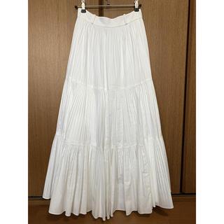 kate spade new york - kate spade ケイトスペード ホワイト プリーツ ギャザー スカート