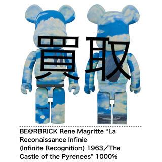 メディコムトイ(MEDICOM TOY)のBE@RBRICK Rene Magritte 1000% (その他)