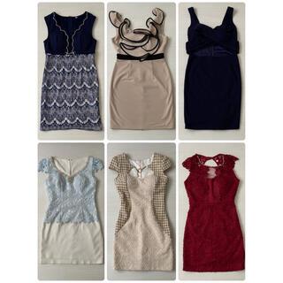 ジュエルズ(JEWELS)のキャバドレス ナイトドレス まとめ売り セット  ワンピース(ナイトドレス)