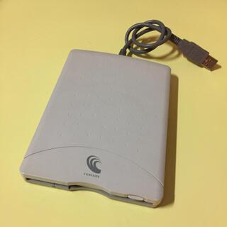 エヌイーシー(NEC)のCentury CUF0002-WG;【ジャンク品】USB FDD(PC周辺機器)
