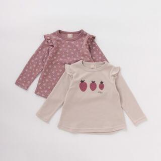 petit main - 【新品・未使用】プティマイン アソートTシャツ2枚セット