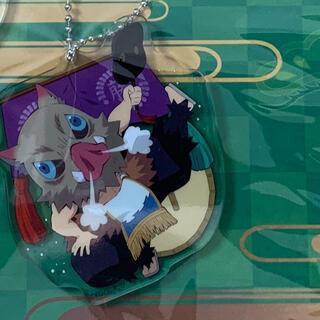 シュウエイシャ(集英社)の鬼滅の刃 全集中 アクリルチャーム 伊之助 単品 プチプチ 厚紙梱包 水濡れ対策(キャラクターグッズ)