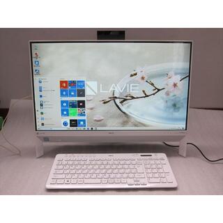 エヌイーシー(NEC)のNEC DA700/KA Core i7-8550U/23.8フルHD/TV録画(デスクトップ型PC)