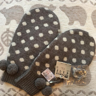 DO!FAMILY - 新品未使用 DO!FAMILY ドゥ ファミリィ  ドット柄 茶色の手袋
