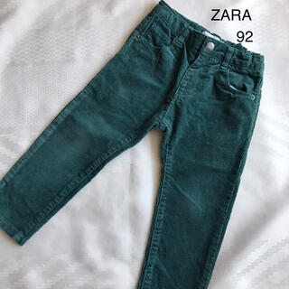 ZARA KIDS - ザラ グリーンパンツ 92