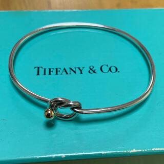 Tiffany & Co. - ティファニー ラブノット バングル k18