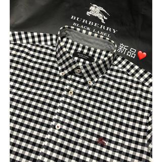 BURBERRY - 新品 バーバリーブラックレーベル 長袖シャツ3