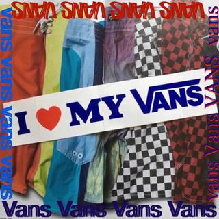 """ヴァンズ(VANS)のVANSバンズUS限定激レア""""loveVANS""""80'sレトロバナー ステッカー(その他)"""