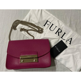 Furla - FURLA ゴールドチェーンバッグ JULIA