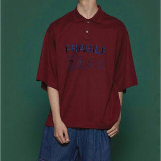 SHAREEF - SHAREEF 'FRAGILE' BIG POLO SHIRTS サイズ2