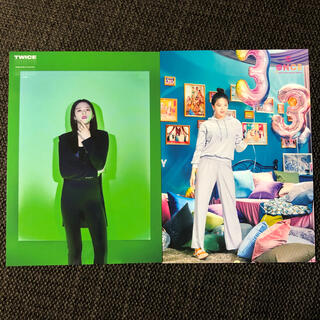 ウェストトゥワイス(Waste(twice))のTWICE  ランダムトレカ ジョンヨン  2枚セット ④(K-POP/アジア)