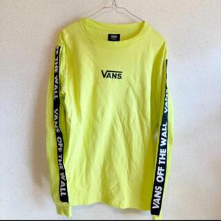 ヴァンズ(VANS)の早い者勝ちタイムセール‼︎VANS サイドテープロゴライン ロンT(Tシャツ(長袖/七分))