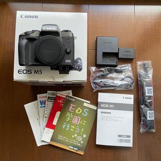 Canon - canon EOS M5 ボディ ブラック 良品