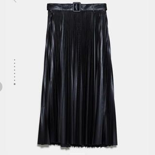 ZARA - ZARA ザラ フェイクレザースカート