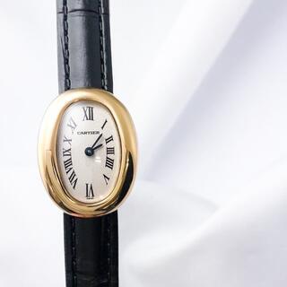 Cartier - 【仕上済】カルティエ ミニ ベニュワール YG レディース 腕時計