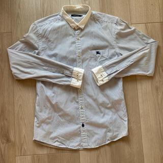 バーバリーブラックレーベル(BURBERRY BLACK LABEL)のバーバリーブラックレーベル ストライプシャツ(シャツ)