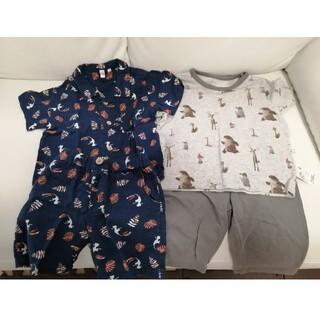 サマンサモスモス(SM2)の100サイズ 男の子用 UNIQLOとSamansa Mos2のパジャマ(パジャマ)
