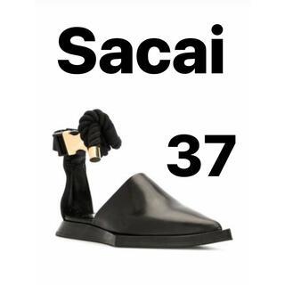 サカイ(sacai)のSacai ポインテッドトゥサンダル(サンダル)