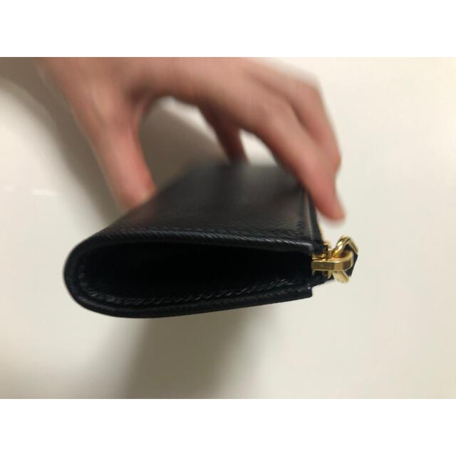 PRADA(プラダ)のPRADA プラダ キーケース ブラック サフィアーノ レディースのファッション小物(キーケース)の商品写真