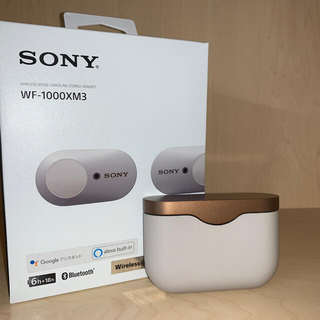 SONY - SONY WF-1000XM3プラチナシルバー 美品