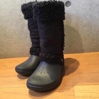 クロックス(crocs)のクロックス  ムートンブーツ  22  美品(ブーツ)