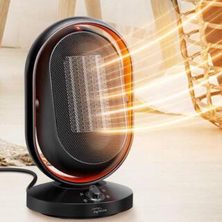 セラミックファンヒーター 自動首振り 2秒速暖