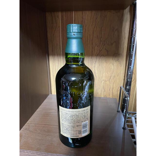 サントリー(サントリー)の白州18年 未開封 箱無 送込 食品/飲料/酒の酒(ウイスキー)の商品写真