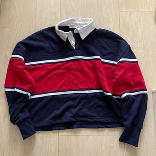 スピンズ(SPINNS)のラガーシャツ(カットソー(長袖/七分))