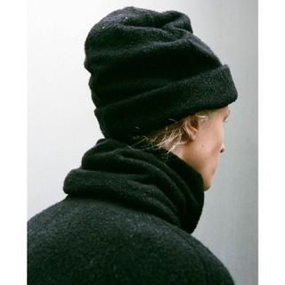 コモリ(COMOLI)の新品■20AW COMOLI シルクフリース ニットキャップ(ニット帽/ビーニー)