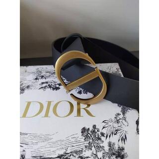 Dior - 30 MONTAIGNE ベルト  スムースカーフスキン