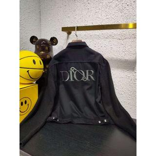 Dior - DIOR AND JUDY BLAMEロゴ刺繍 ストレッチコットン Gジャン