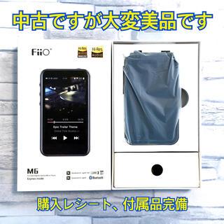 Fiio M6 美品 付属品完備 DAP  Android ミュージック(ポータブルプレーヤー)