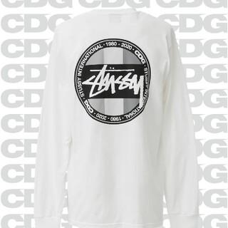 STUSSY - CDG x STUSSY longsleeve T shirt Mサイズ