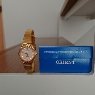 ORIENT - ORIENT ゴールド腕時計