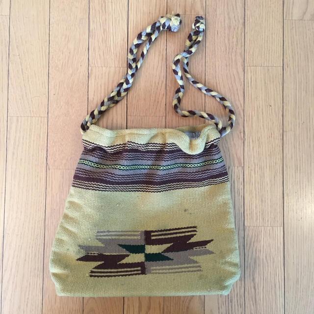 goro's(ゴローズ)のORTEGA'S オルテガ チマヨ柄 巾着 ショルダー ゴローズ ネイティブ レディースのバッグ(ショルダーバッグ)の商品写真