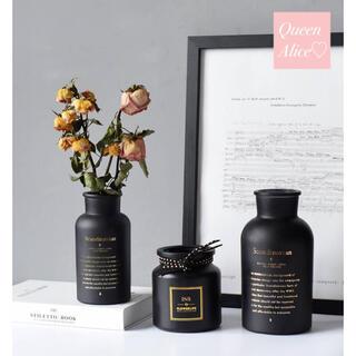 【匿名配送】北欧 ヨーロピアン フラワーベース 花瓶 生花 フランフラン 韓国(花瓶)