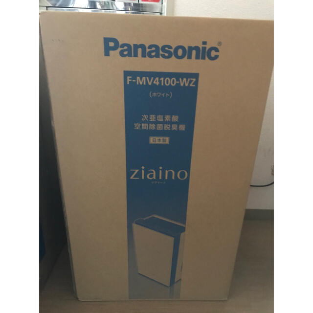 Panasonic(パナソニック)のパナソニック 次亜塩素酸 ジアイーノ ホワイト F-MV4100-SZ スマホ/家電/カメラの生活家電(空気清浄器)の商品写真