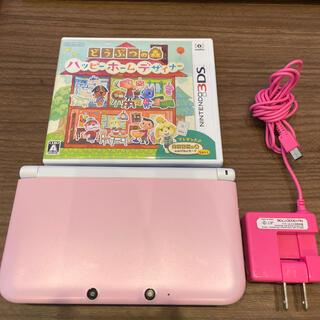 ニンテンドー3DS - Nintendo 3DS LL ピンク
