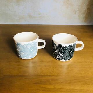 marimekko - マリメッコ  クルイェンポルヴィ コーヒーカップセット