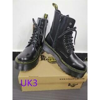 Dr.Martens - UK3ドクターマーチン Dr.Martens 新品 厚底ブーツ 革靴 ファション
