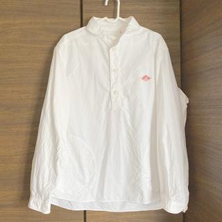 ダントン(DANTON)の☺︎DANTON 丸襟オックスフォード プルオーバーシャツ☺︎(Tシャツ/カットソー(七分/長袖))