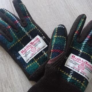 シマムラ(しまむら)のタイムセール ほぼ新品 ハリスツイードHarris Tweed 手袋(手袋)