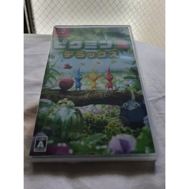 ピクミン3 デラックス Switch エンタメ/ホビーのゲームソフト/ゲーム機本体(家庭用ゲームソフト)の商品写真