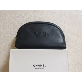 CHANEL - シャネル正規品ノベルティポーチ化粧入れ大容量