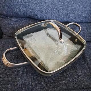 マイヤー(MEYER)の未使用品 MEYER スクエア グリルパン24cm(鍋/フライパン)