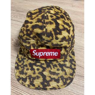 シュプリーム(Supreme)のSupreme Liberty Leopard Camp Cap ボックスロゴ(キャップ)